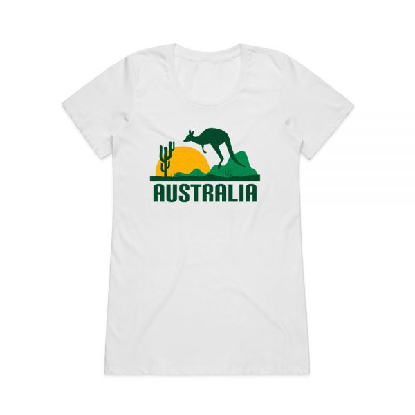 Australia t-shirt for women