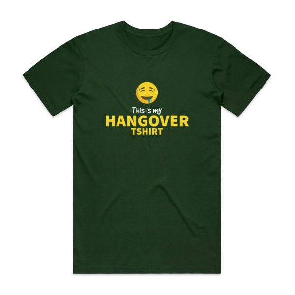 Party hangover t-shirt for men